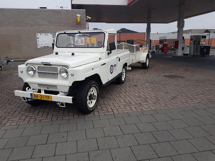 4x4 Coffee Truck - Nissan Patrol