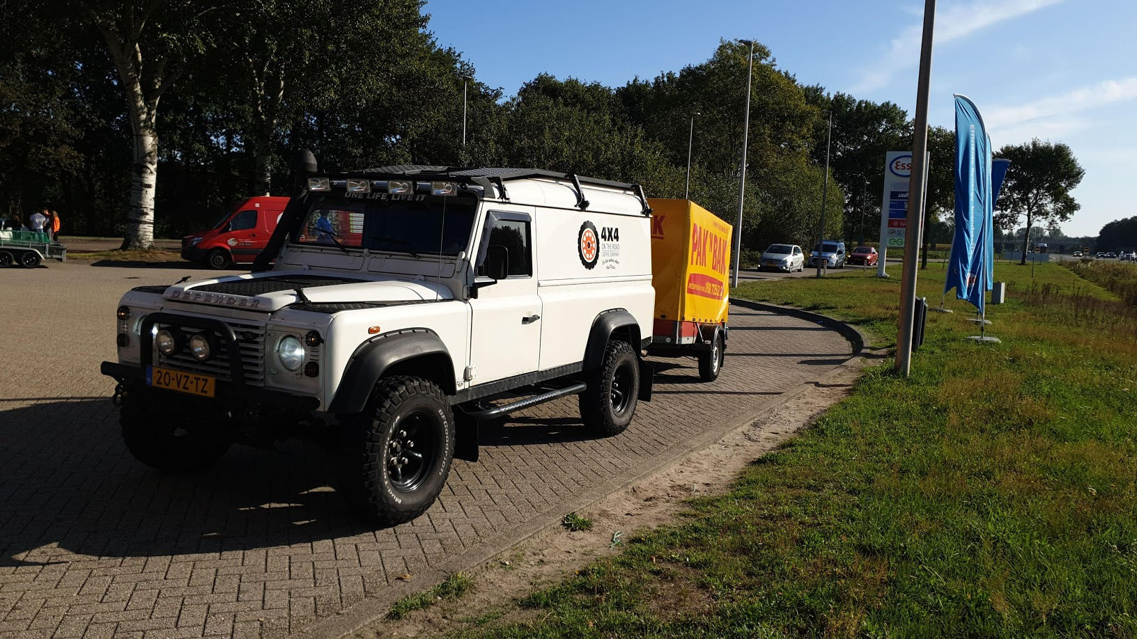 4x4 Coffee Truck onderweg